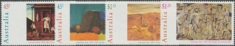 AUS SG1503-6 Australia Day, Paintings set of 4